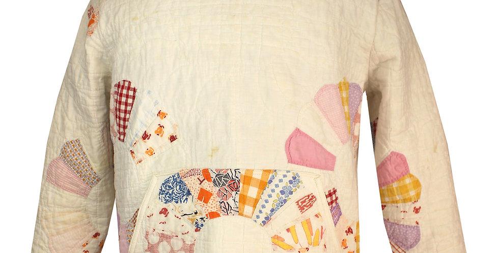 White Dresden Plate Hoodie Jacket