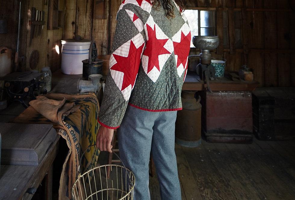 8 Point Star Quilt Jacket (L)