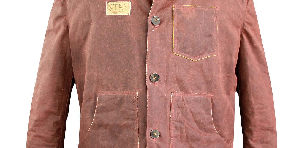 Brown Oil Cloth Jacket