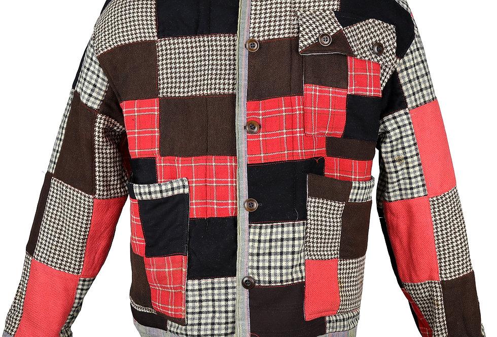 Grand Junction Wool Patchwork Quilt Jacket