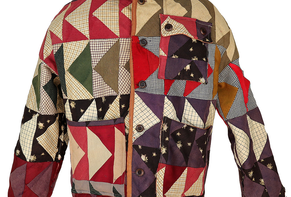 Eugene Flying Geese Quilt Jacket