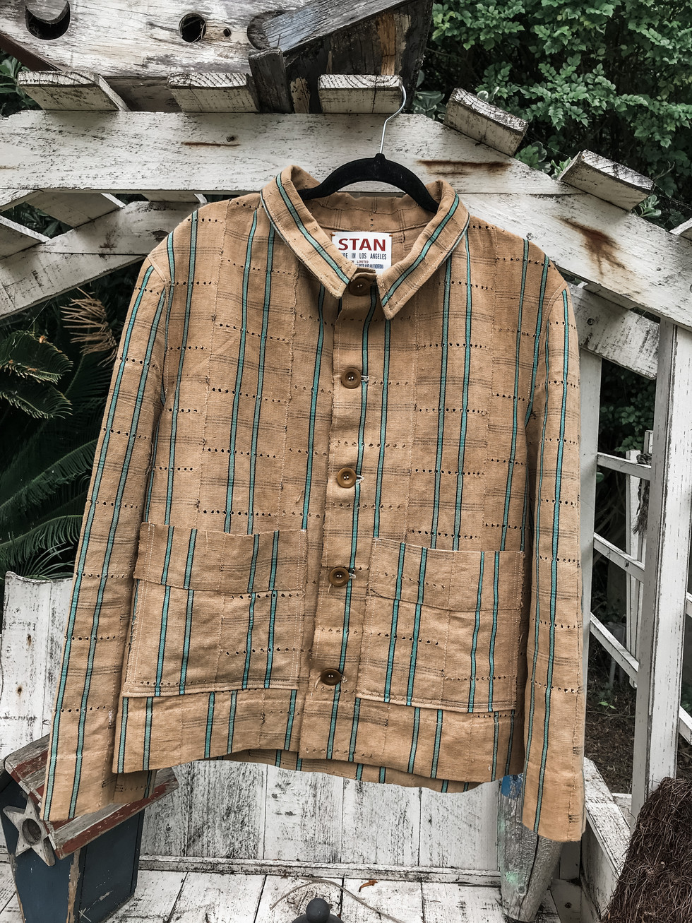 W. African Mud Cloth Jacket