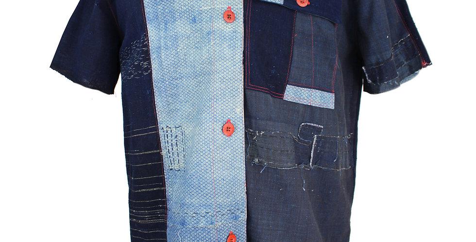 Boro Kimono Remnant Shirt