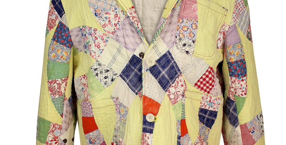 Yellow Double Wedding Circle Jacket