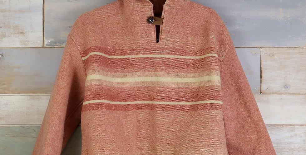 Dusty Wool Camp Blanket Hoodie (S)