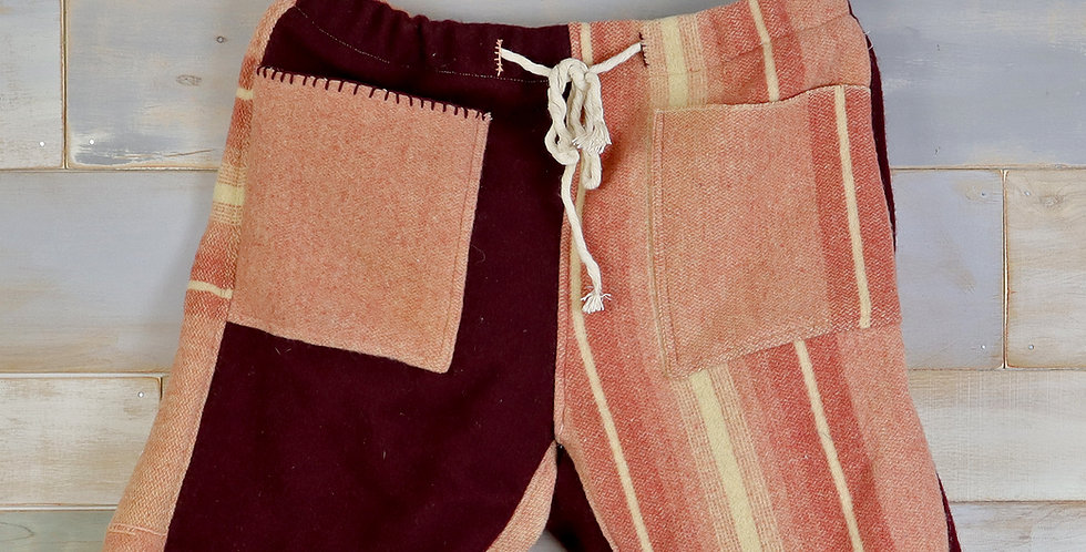 Dusty Wool Camp Blanket Shorts (M/L)