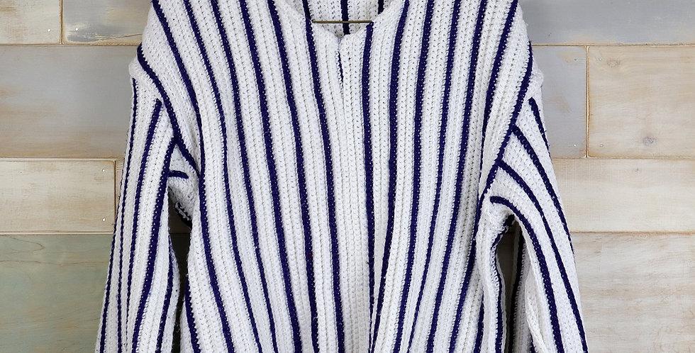 Crochet Throw Sweater (M/L)