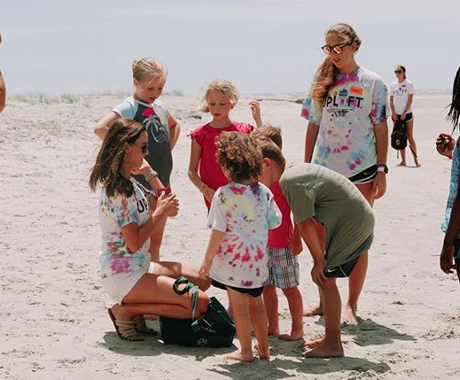 Back to school BBQ at the Isle of Palms Exchange Club