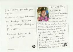 Camilla's Letter