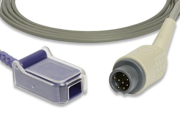 SpO2 cable, 8pin (Nellcor)