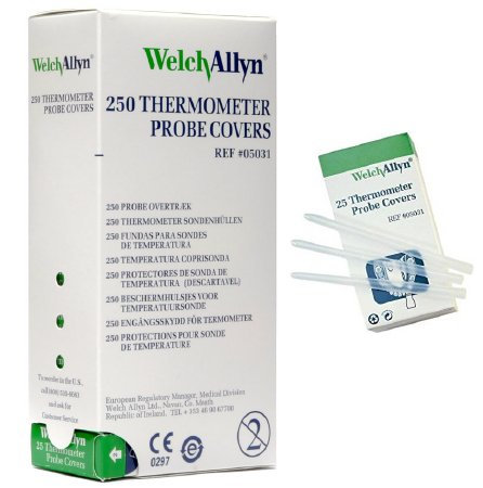Welch-Allyn Disposable Probe Covers for SureTemp Plus 690 Thermometer