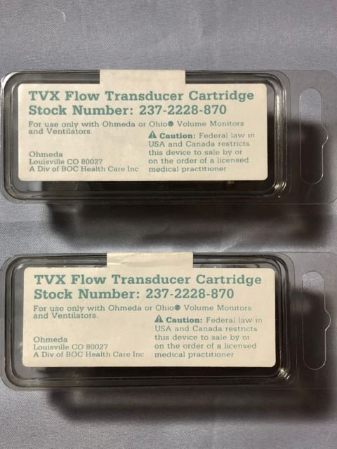 Ohmeda Excel-210 TVX Flow Transducer Cartridge