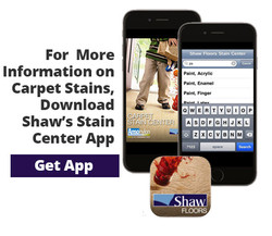 Shaw Floor Stain App