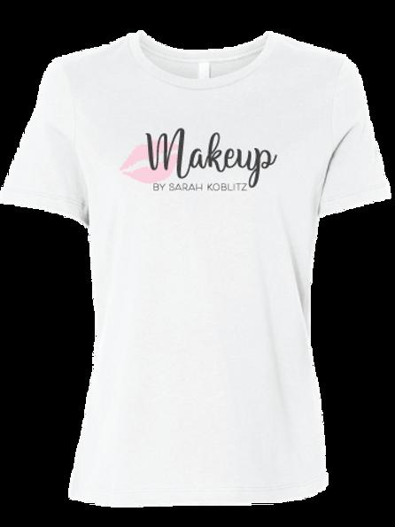 MBSK Bella + Canvas Women's White Relaxed Jersey Short Sleeve T