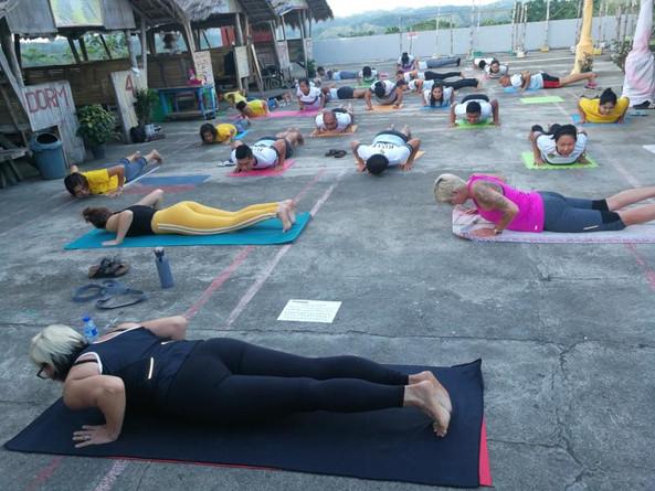 BMJP Jail Yoga Class