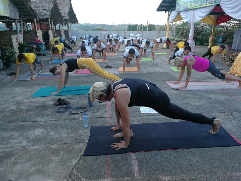 BMJP Provincial Jail Yoga Program