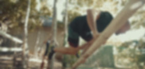 Tom Obstacle course jump over bamboo.jpg