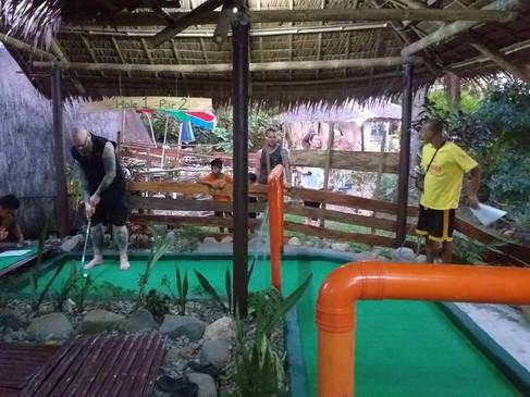 Activities Mini golf course