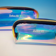 Pochette trasparenti in 2 misure con effetto shiny-magnetico.