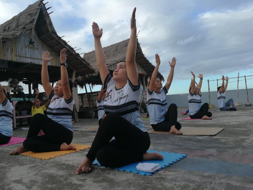 BMJP Yoga  Class