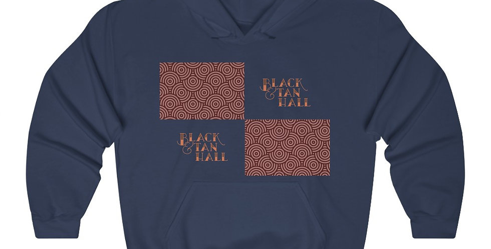 Black & Tan Hall Hooded Sweatshirt