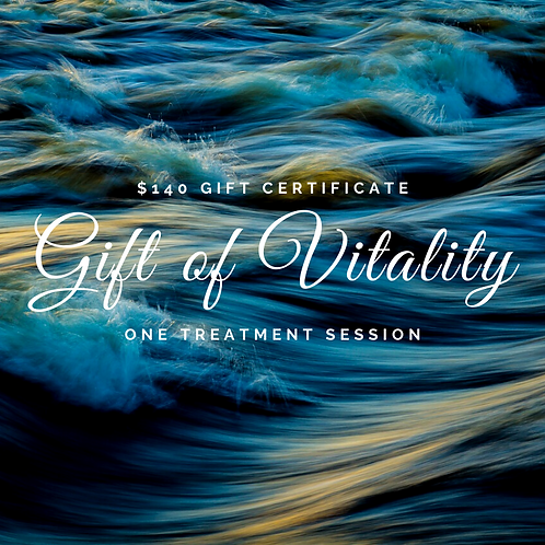 Gift Certificate for Consult plus One Treatment Session