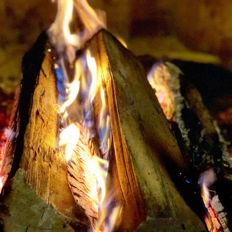 Wood fire, gas fire, and how hot is hot?