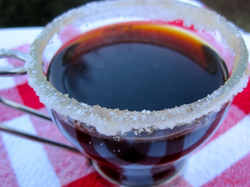 Carajillo (Colombian hot coffee drink)