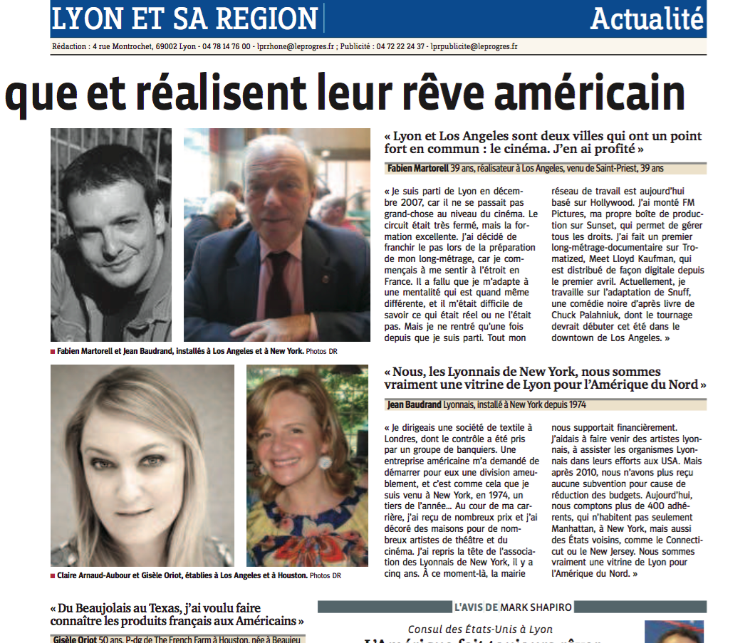 LE PROGRES FEATURED SPLASHPR AENCY FOUNDER