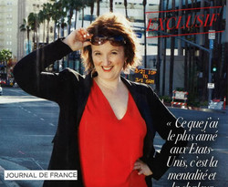 Humorist and actress Anne Roumanoff