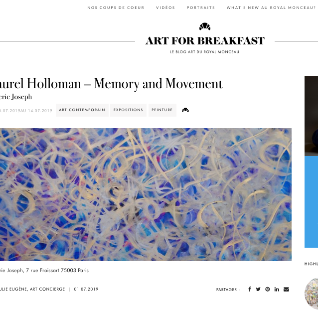 MEMORY AND MOVEMENT