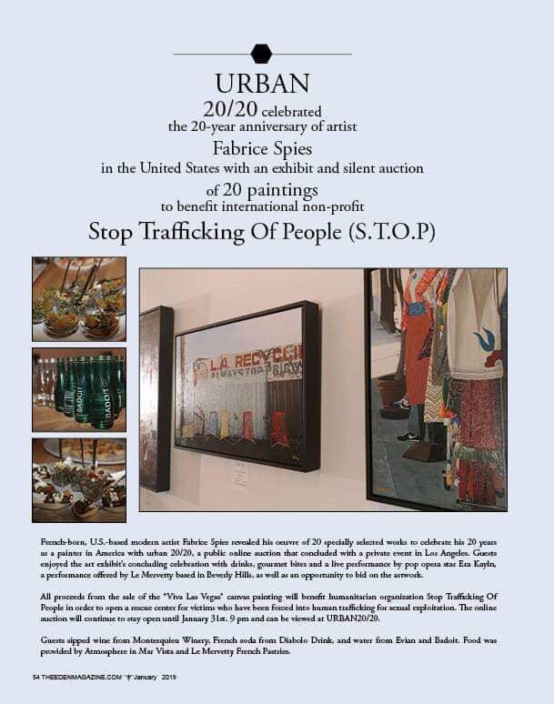 URBAN 2020 FEATURED IN SPIRIT&FLESH MAG