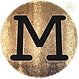 MERAKI Films M Logo Trans with R in Gold