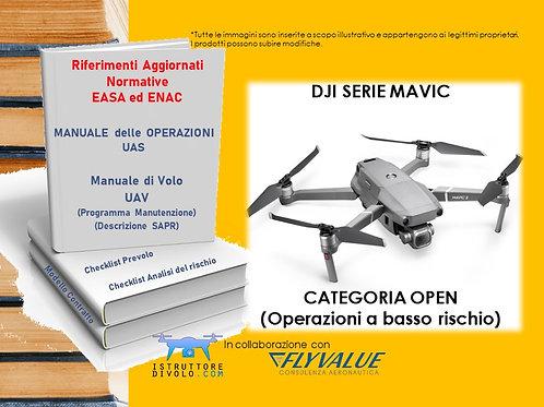 """""""SMART10"""" CONSULENZA OPERATORE OPEN BASSO RISCHIO E UAV """"DJI SERIE MAVIC"""""""