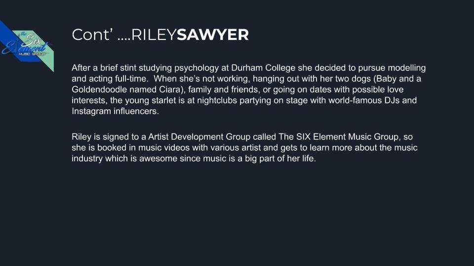 The SIX Element Group Portfolio of Riley