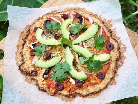 Plant-based Cauliflower Pizza