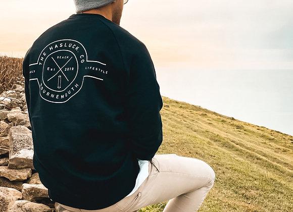 B'MOUTH Logo Sweatshirt - NOIR