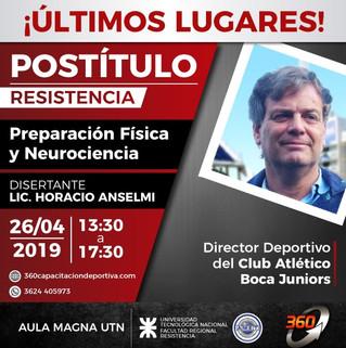 Preparación Física y Neurociencia con Horacio Anselmi y 360