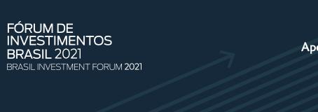 Participación en el Brasil Investment Forum 2021