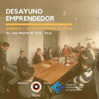 Desayuno emprendedor Interactiva - ASEA