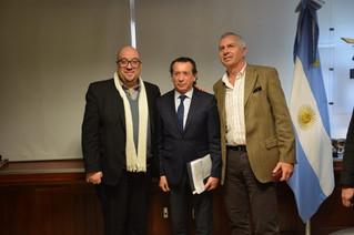 Reunión Ministro Sica