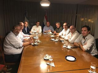 Reunión con el embajador Argentino en Paraguay