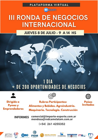 III Ronda de negocios internacional