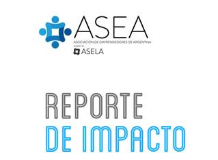 Repote de Impacto ASEA 2019