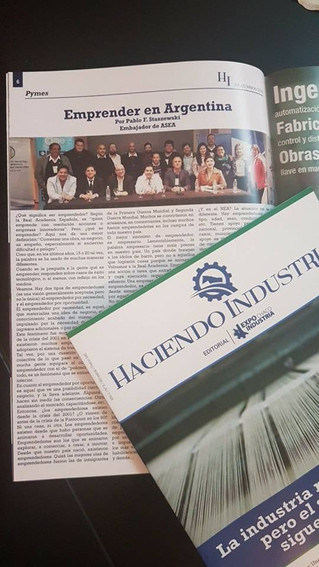 Mi nota sobre Emprender en Argentina