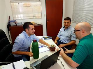Reunión con el Subse. de Asuntos Estrategicos