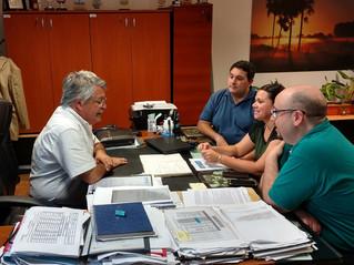 Nos reunimos con el Ministro de Producción junto con Wanda Legal