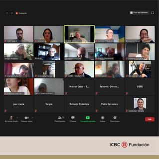 Encuentro entre la Fundación ICBC, CAC y cámaras de comercio exterior
