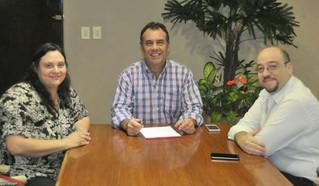 Reunión con el vicegobernador de Chaco