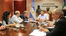 Peppo se reunió con representantes de la Embajada de Polonia
